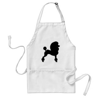 Clipped Standard Poodle Standard Apron