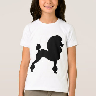 Clipped Standard Poodle T-shirts