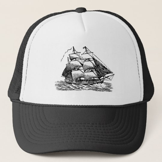 Clipper - Black Trucker Hat