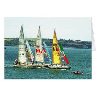 Clipper Class Yacht Race 2010 Greeting Card