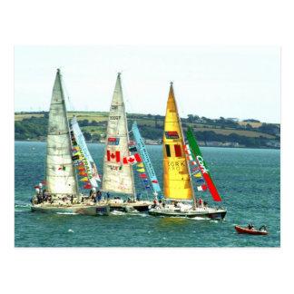 Clipper Class Yacht Race 2010 Postcard