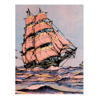 Clipper Ship Ann McKim Postcard