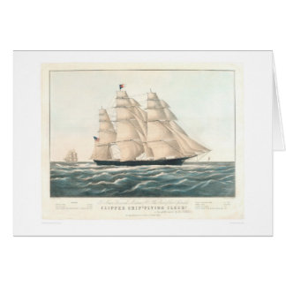 "Clipper ship ""Flying Cloud"" (0397A) Greeting Card"