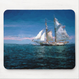 Clipper Ship Mouse Mat