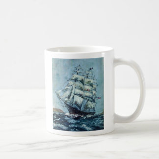 Clipper Ship Western Shore Basic White Mug