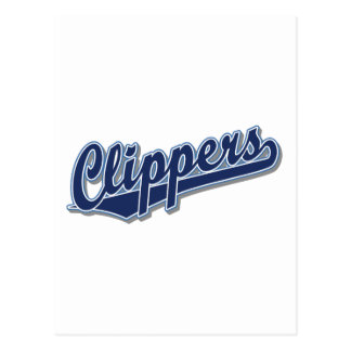 Clippers in Blue and Gray Post Cards