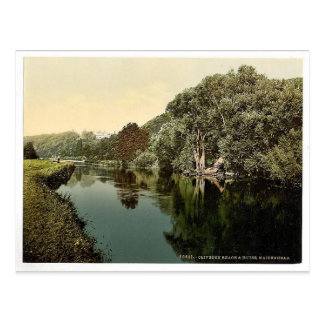 Cliveden Reach and House, Maidenhead, London and s Postcard