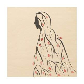 Cloaked in Autumn Wood Wall Art Wood Prints