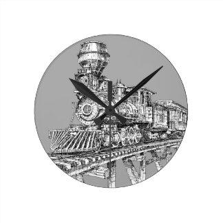 Clock: 1880 Baldwin Wallclock