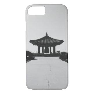 Clock asian building iPhone 7 case