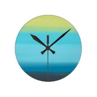 Clock // Cool Watercolor
