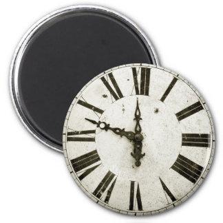 Clock Face 6 Cm Round Magnet