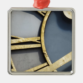 Clock face christmas ornament