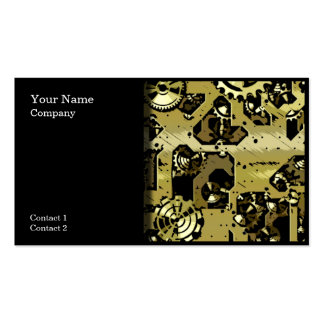 Clock Gears Design 03 - business cards