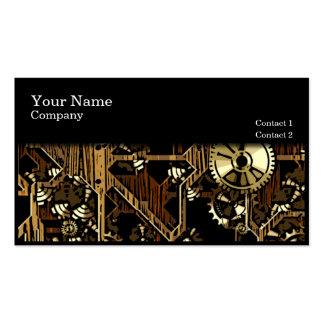 Clock Gears Design 04 - business cards
