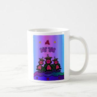 Clock Hop Basic White Mug