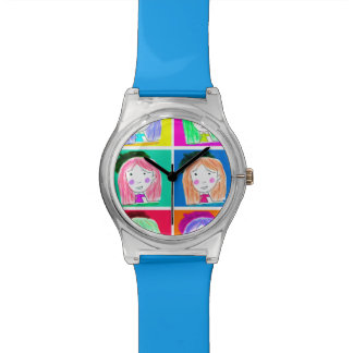 Clock Lu POP-ART Watch