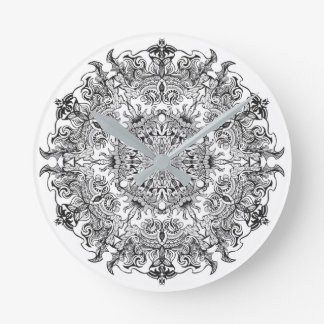 clock mandala