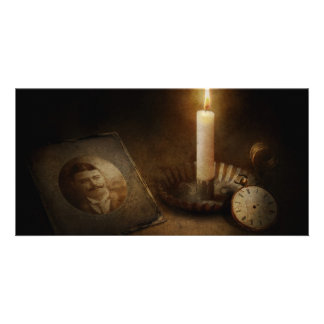Clock - Memories Eternal Photo Card Template