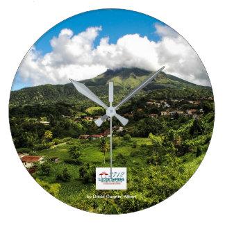 Clock Mountain Peeled of Martinique