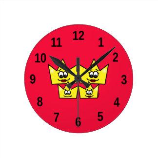 Clock of Wall - Gay Family - Women