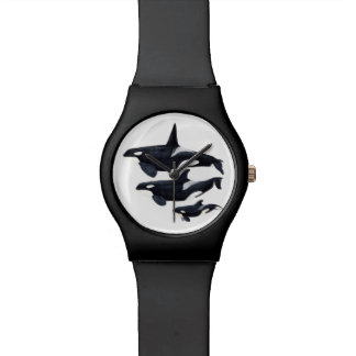 Clock orca wristwatch