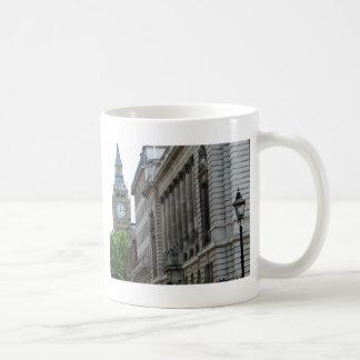 Clock Over Trees Coffee Mug