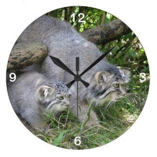 Clock - pallas cat