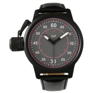 clock pulse spit wristwatches