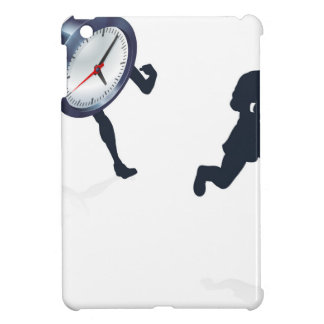 Clock Race Business Man Concept iPad Mini Cases