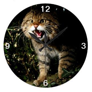 Clock - Scottish wildcat