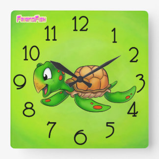 Clock - Sheldon