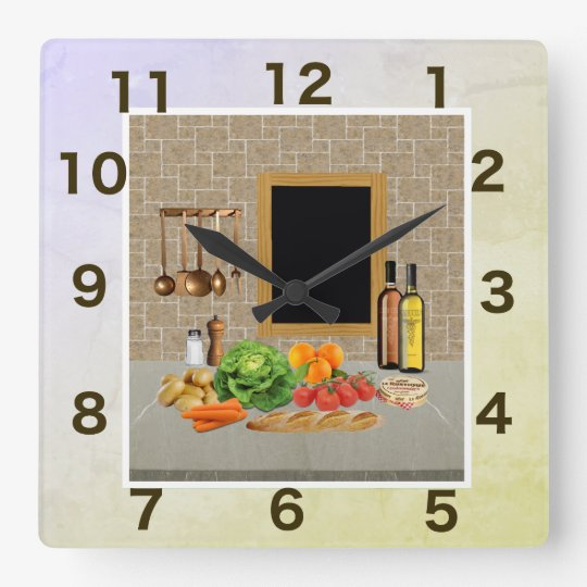 clock square kitchen