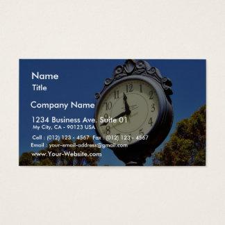 Clock Street Business Card