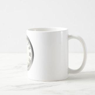 Clock Strikes Midnight New Year's Eve Coffee Mug