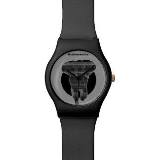 Clock Striped Elephant Wristwatch