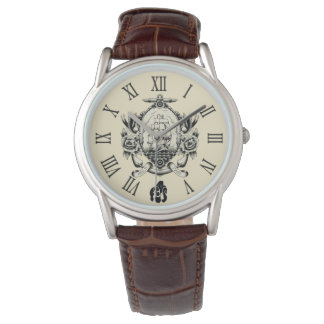 Clock Tattooing Gold Of Savannah Watch