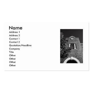 Clock Tower Business Card