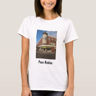 Clock Tower, Downtown Paso Robles, California T-Shirt