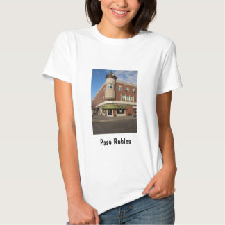 Clock Tower, Downtown Paso Robles, California T Shirts
