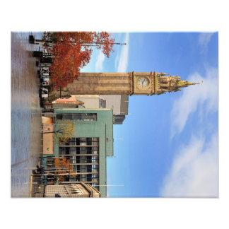 Clock tower in Belfast Photo Print