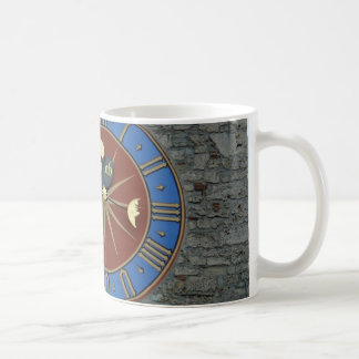 Clock tower in Lucerne on Stone tower Coffee Mug