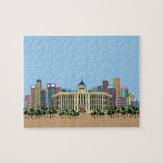 Clock Tower Jigsaw Puzzle