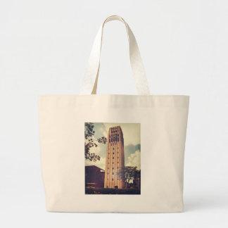 Clock Tower Jumbo Tote Bag