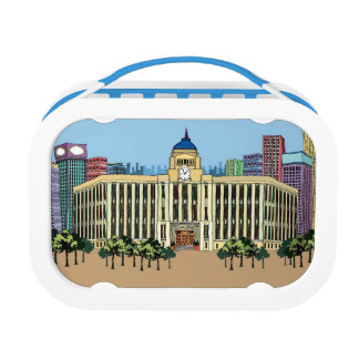 Clock Tower Lunch Box