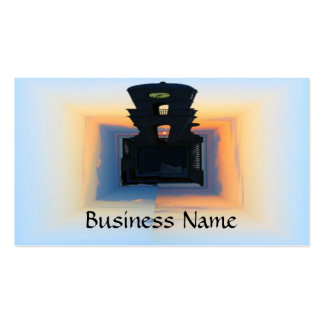 Clock Tower Pack Of Standard Business Cards