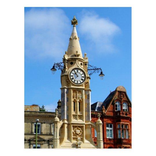 Clock tower postcard