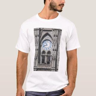 Clock towers at the National Basilica, Ecuador T-Shirt