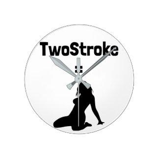 Clock (TwoStroke=Woman)