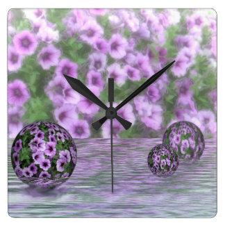 Clock - Water Garden design